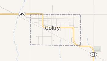 Goltry, Oklahoma map