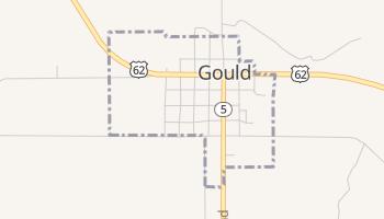 Gould, Oklahoma map
