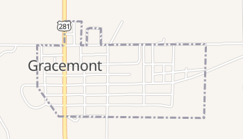 Gracemont, Oklahoma map