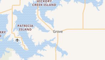 Grove, Oklahoma map