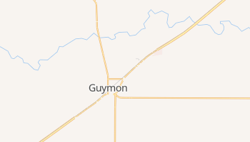 Guymon, Oklahoma map