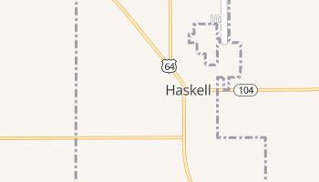 Haskell, Oklahoma map