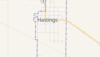 Hastings, Oklahoma map