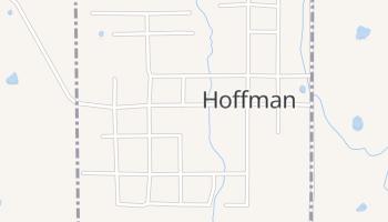 Hoffman, Oklahoma map