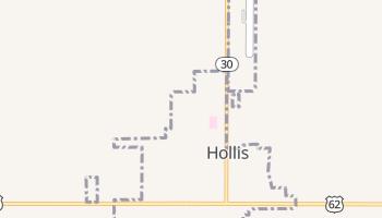 Hollis, Oklahoma map