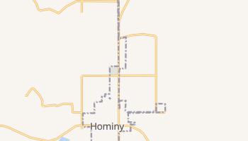 Hominy, Oklahoma map