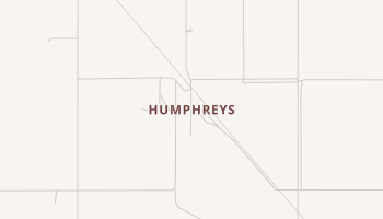 Humphreys, Oklahoma map