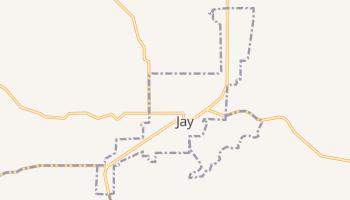 Jay, Oklahoma map
