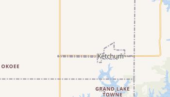 Ketchum, Oklahoma map