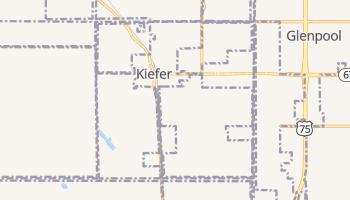 Kiefer, Oklahoma map