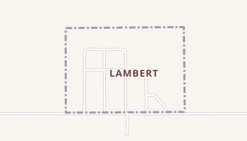 Lambert, Oklahoma map