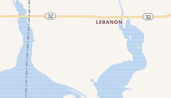 Lebanon, Oklahoma map