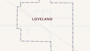 Loveland, Oklahoma map
