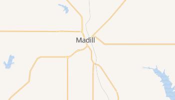 Madill, Oklahoma map
