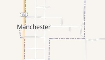 Manchester, Oklahoma map