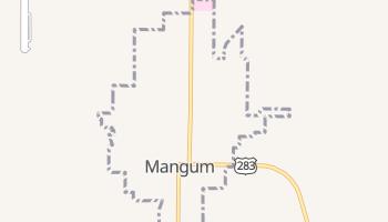Mangum, Oklahoma map