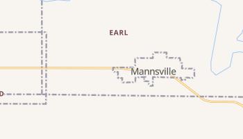 Mannsville, Oklahoma map