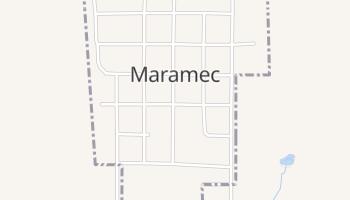 Maramec, Oklahoma map