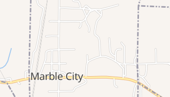 Marble City, Oklahoma map