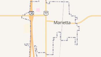 Marietta, Oklahoma map
