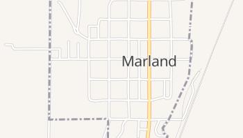 Marland, Oklahoma map
