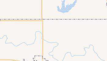 Maysville, Oklahoma map
