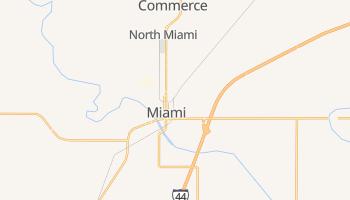 Miami, Oklahoma map