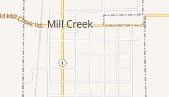 Mill Creek, Oklahoma map