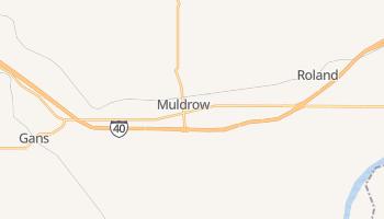 Muldrow, Oklahoma map