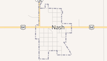 Nash, Oklahoma map