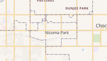 Nicoma Park, Oklahoma map