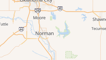 Norman, Oklahoma map