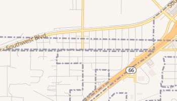 Oakhurst, Oklahoma map