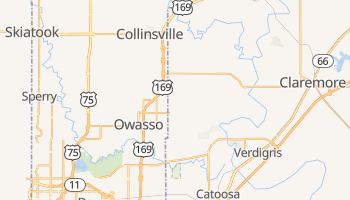 Owasso, Oklahoma map