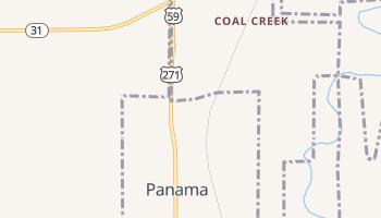 Panama, Oklahoma map