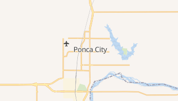 Ponca City, Oklahoma map