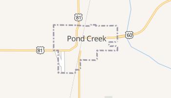 Pond Creek, Oklahoma map