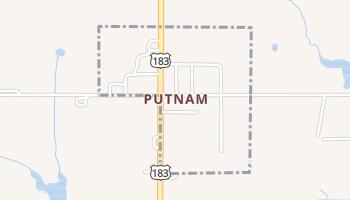 Putnam, Oklahoma map