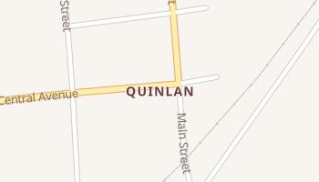 Quinlan, Oklahoma map