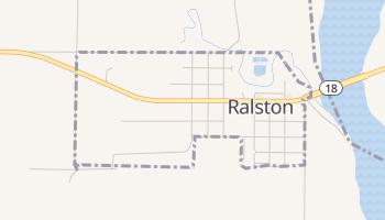 Ralston, Oklahoma map