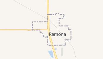Ramona, Oklahoma map