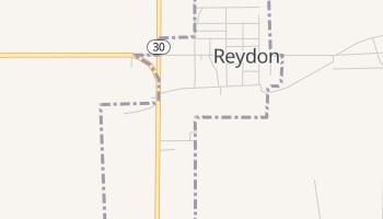 Reydon, Oklahoma map