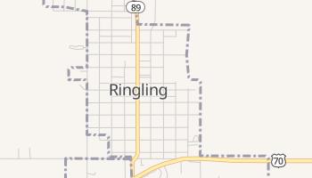 Ringling, Oklahoma map