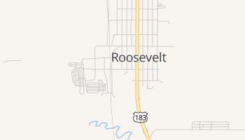 Roosevelt, Oklahoma map