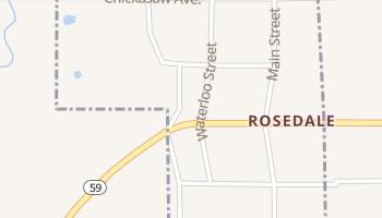 Rosedale, Oklahoma map