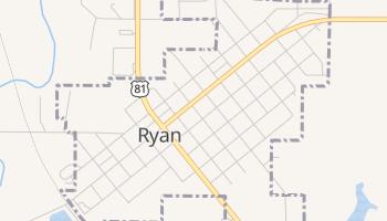 Ryan, Oklahoma map