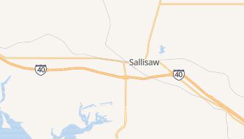 Sallisaw, Oklahoma map