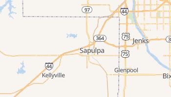 Sapulpa, Oklahoma map