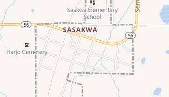 Sasakwa, Oklahoma map