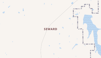 Seward, Oklahoma map